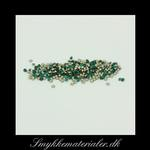 20091339, Swarovski Facetsten (Emerald), Ø 1,5 mm