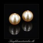 20091611, Swarovski Crystal Gold Pearl, 8 mm